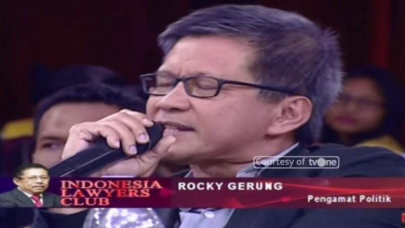 Rocky Gerung di ILC