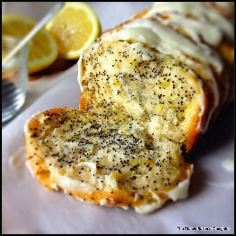 Lemon Poppy Cake Almond Buttercream