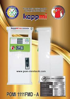 Harga Jual Mesin Pom Mini Pertamini Digital Legal Model POMI 1111FMD-A