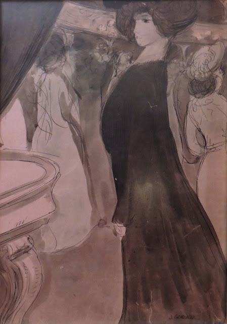 Joan González arte belle epoque