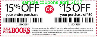 Half Price Books coupons april