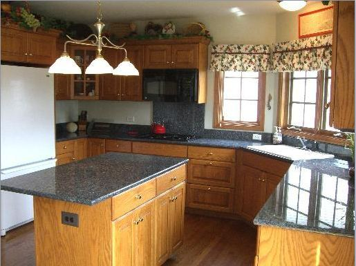 Cabinets And Granite Smokey Blue Suggestions