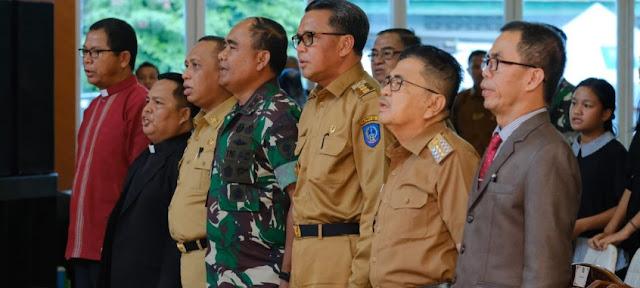 Dianto Paembonan Apresiasi Perayaan Natal Bersama Gubernur Sulsel dan Pangdam Hasanuddin
