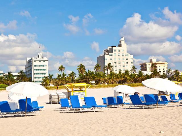 Ir para Miami em Março, Abril e Maio