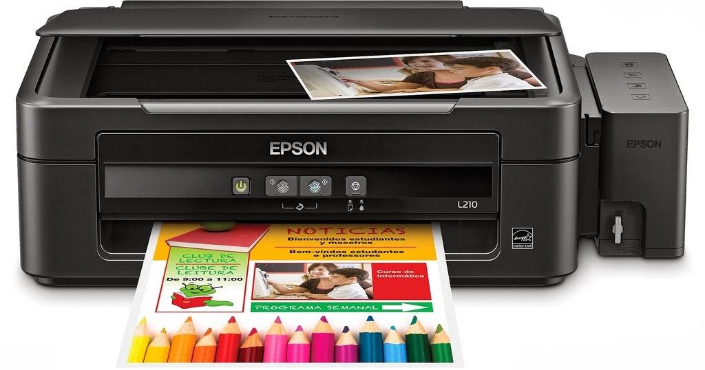 Como Escanear En Impresoras Epson L210 Con Sistema De