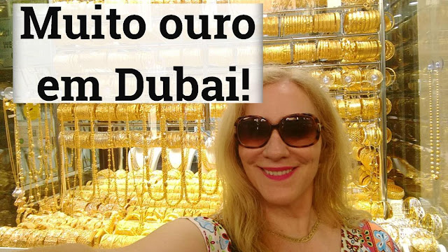 Mercado do Ouro de Dubai ou Gold Souk