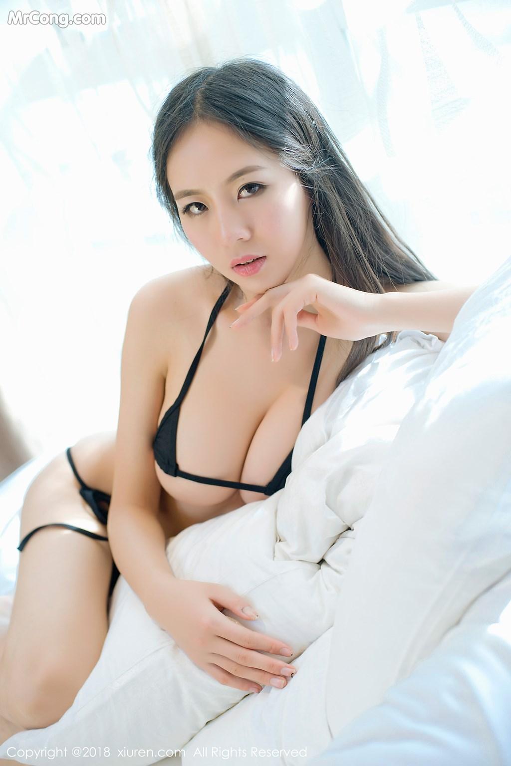Image XIUREN-No.1003-Mote-Yue-Yue-MrCong.com-005 in post XIUREN No.1003: Người mẫu Mote Yue Yue (模特悦悦) (46 ảnh)