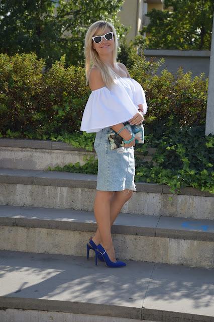 outfit camicia bianca come abbinare una camicia bianca outfit settembre outfit estivi blogger mariafelicia magno fashion blogger colorblock by felym fashion blog italiani blogger di moda web influencer italiane