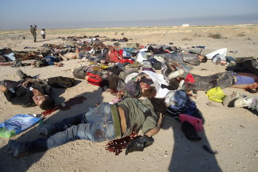 Asian Defence News: Islamic State soldiers killed by ... |Dead Syrians