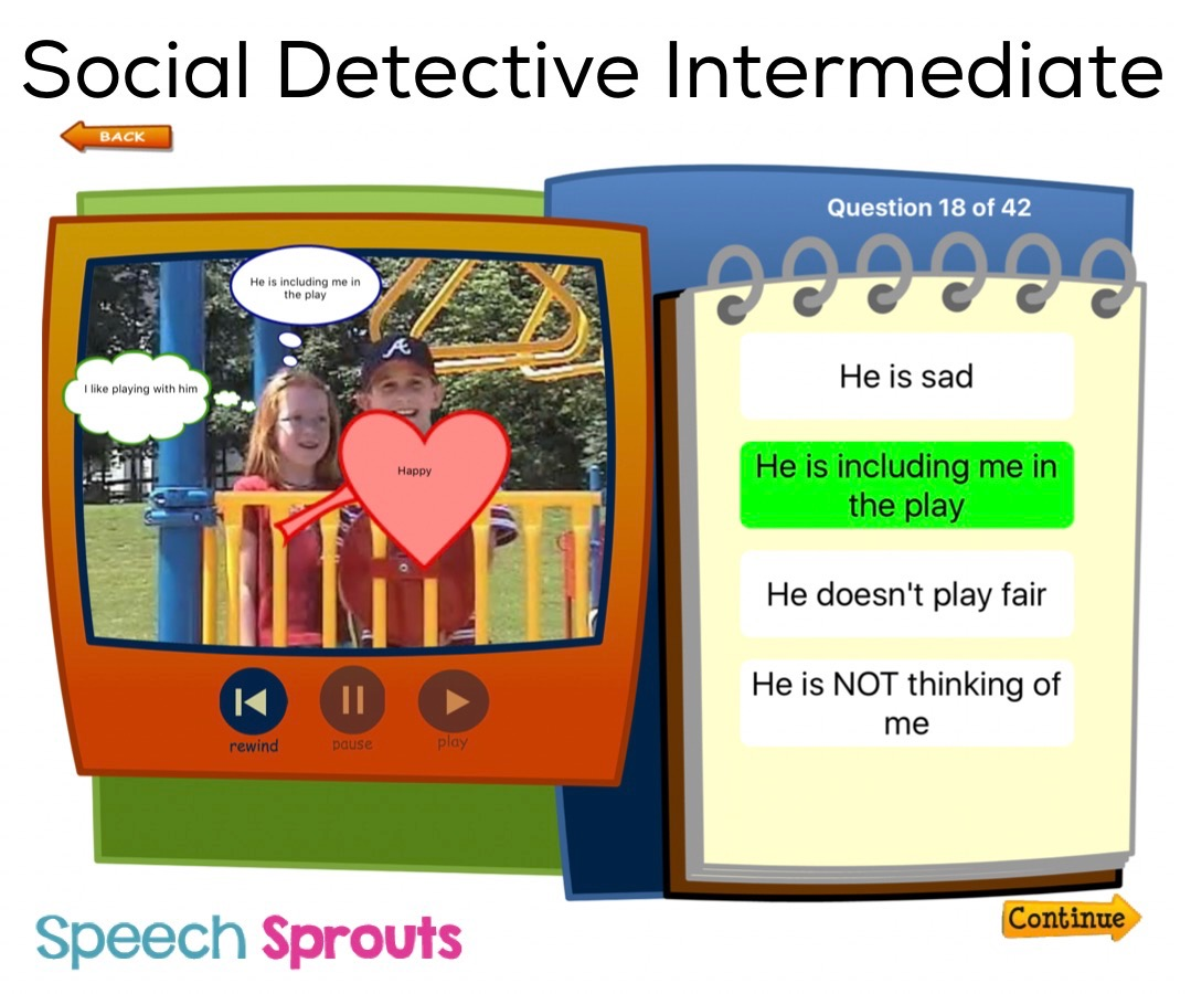 Speech Sprouts: Social Skills APP Review: Social Detective ...