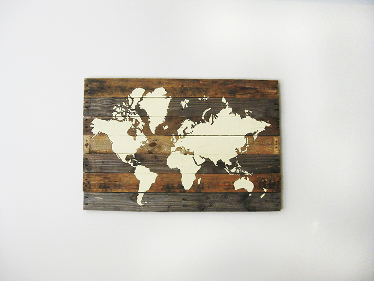 DIY Pallet map
