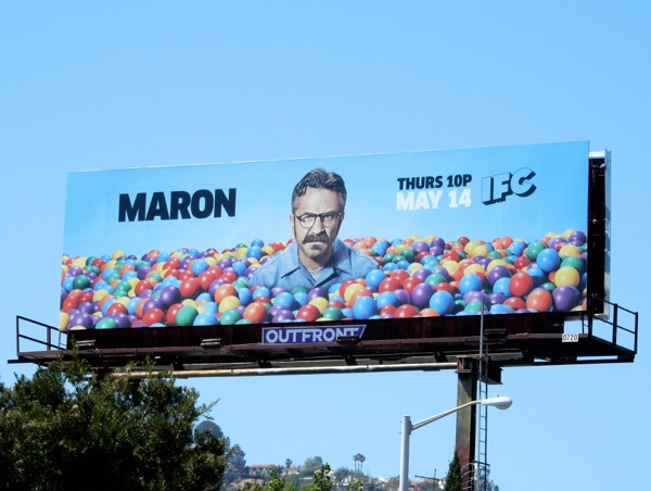 Maron season 3 ball pit billboard