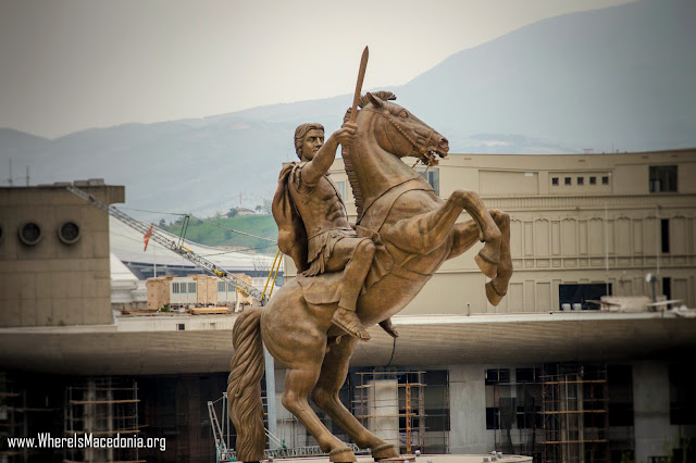 Alexander the Great Monument - Skopje, Macedonia