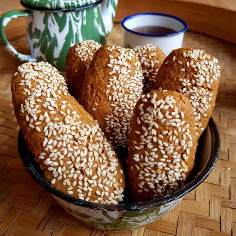 Resep Roti Gambang Taburan Wijen