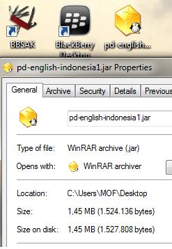 tutorial install aplikasi JAVA di Blackberry (BB)