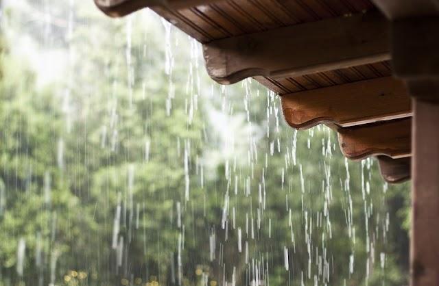 Rafael Fernandes registra chuva durante a madrugada