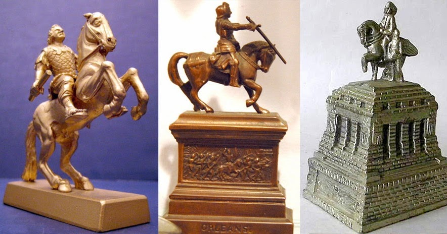 Building Collector Horse Mounted Monument Souvenirs