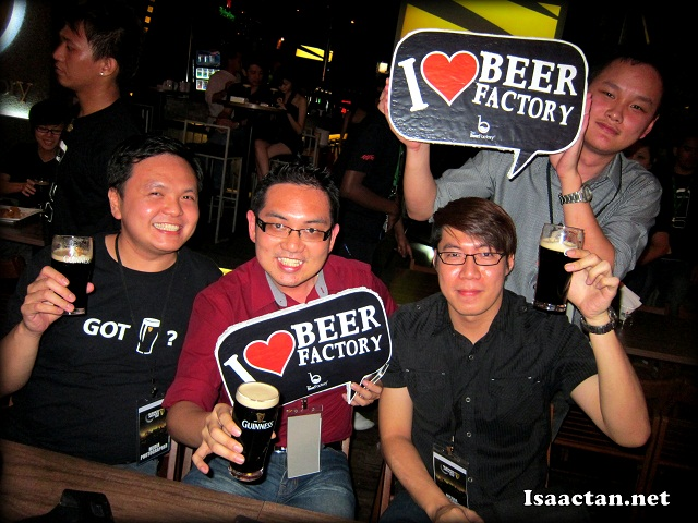 Guinness Arthur's Day 2012 @ Beer Factory Sunway Giza