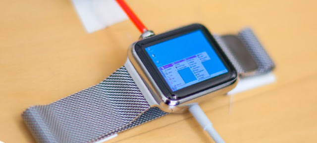 Un hombre logra instalar Windows 95 en su reloj Apple