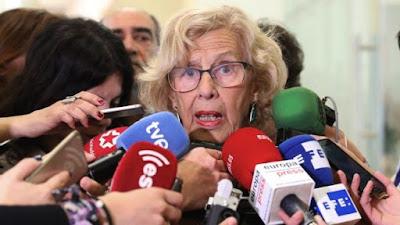 Ahora Madrid, Carmena, Refugiados, comunismo, podemos