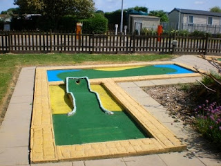 Miniature Golf at the North Shore Holiday Centre and Caravan Park in Skegness