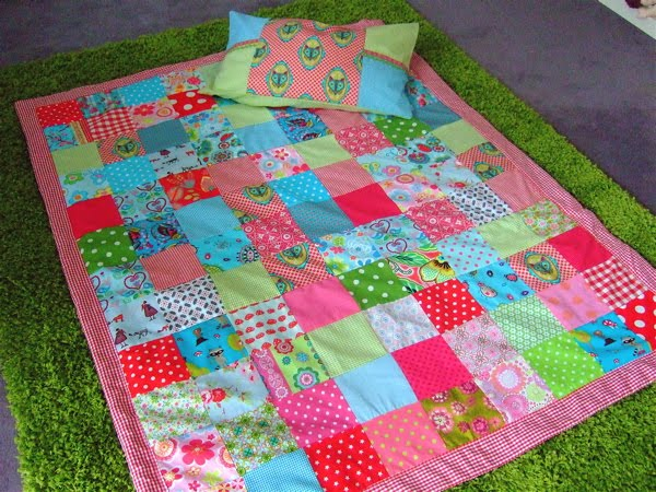 Patchworkdecke Selber Machen Be Pretty By Beate: Patchwork-decke