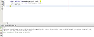 Kelas Informatika - Error Insert Data PostgreSQL