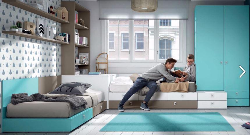 Blog dormitorios juveniles com febrero 2017 - Habitaciones modulares juveniles ...