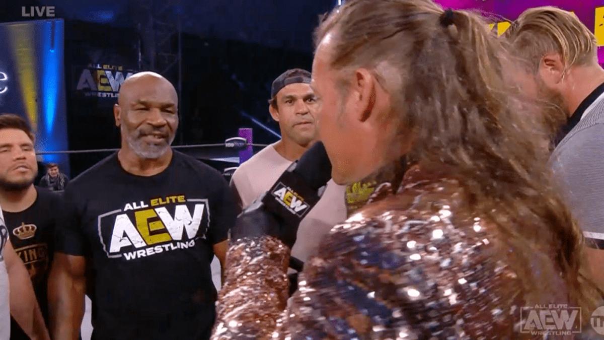 AEW pode estar planejado luta de boxe entre Mike Tyson e Chris Jericho