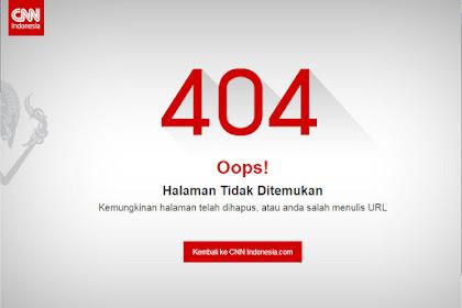CNN Hapus Artikel Prestasi SBY, Netizen: CNN Takut Ditilang Rezim yang Pinternya Bikin Utang!