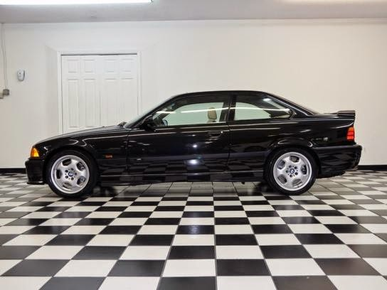 1995 bmw m3 39 049 original miles e36 generation in black for sale. Black Bedroom Furniture Sets. Home Design Ideas
