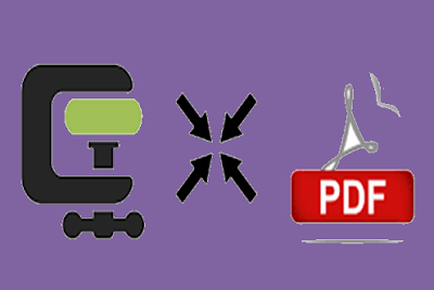 شرح تقليص حجم ملفات الPDF بدون برامج