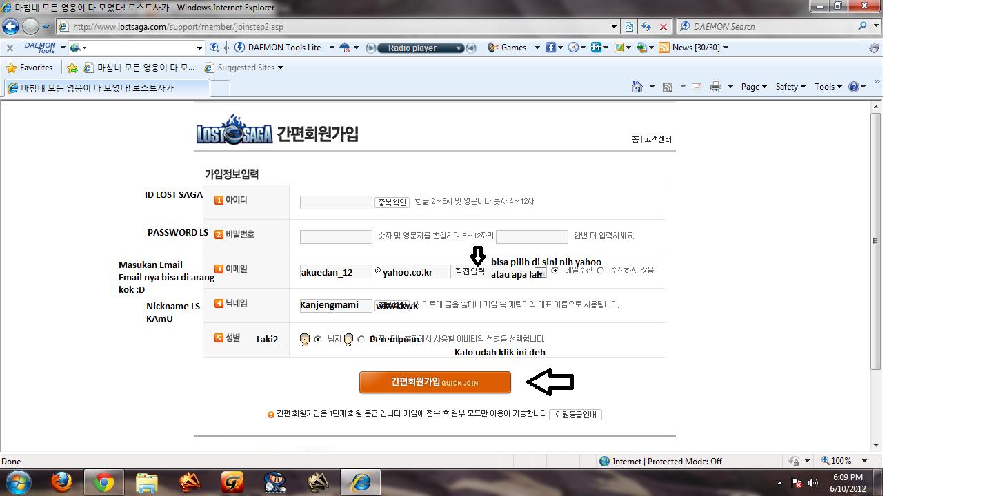 Tutorial Lengkap Cara Mendaftar Ls Korea