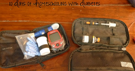 10 Days of Homeschooling with Diabetes - part 8 Diet is key