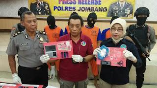 4 Bandar Narkoba Diringkus Polisi