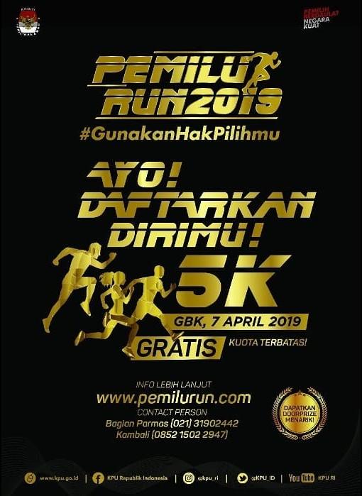 Pemilu Run - Jakarta • 2019