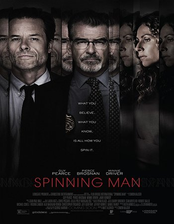 Spinning Man (2018) English 300MB