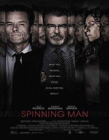 Spinning Man (2018) English 300MB