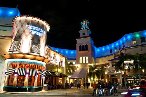 Centro comercial Aventura Mall en Miami