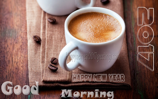 New Year 2017 Good morning Wallpapers Wishes