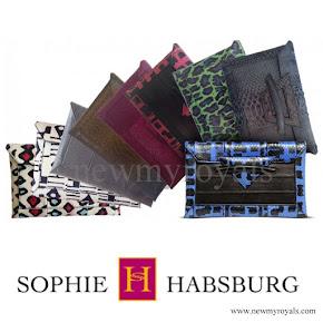 Queen Maxima style - Sophie Habsburg Money Penny Clutch