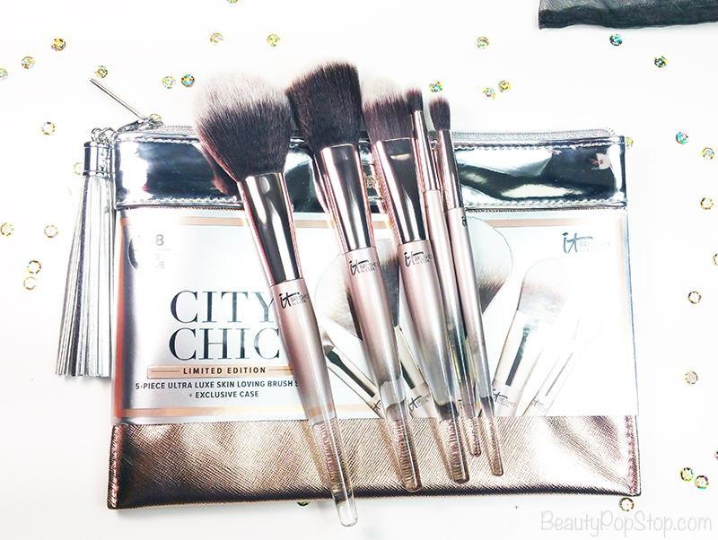 gift guide beauty tools and grooming tools holiday 2016 it cosmetics city chic brush set