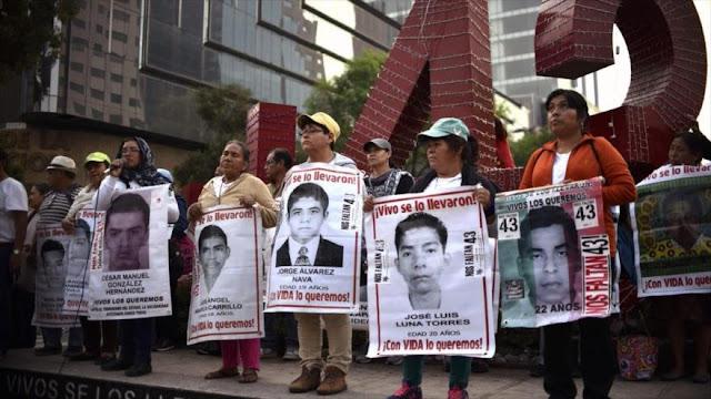 Detienen en México a vinculado con desaparición de 43 normalistas