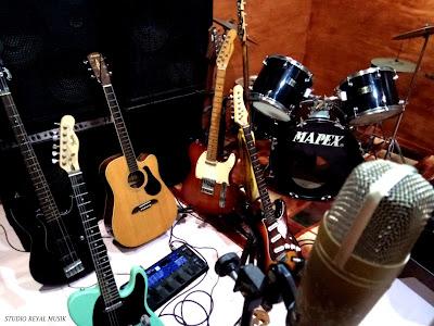 studio rekaman dan les musik jakarta terbaik, pro, biaya murah