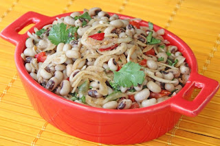 Black Eyed Bean Salad