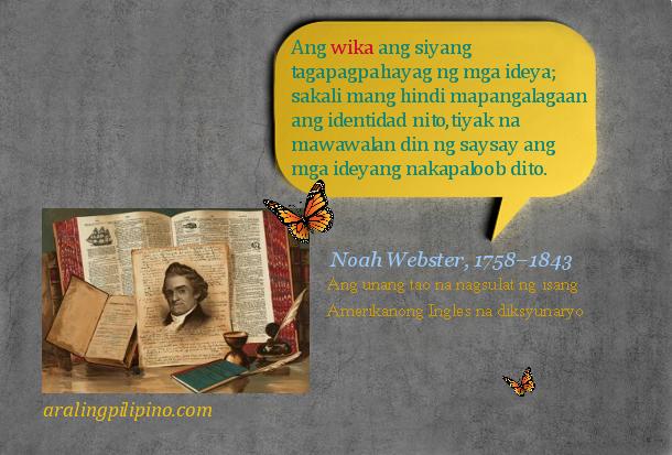 Araling Pilipino Ano ang Wika