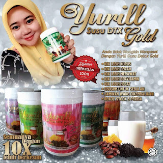 YURILL SUSU DETOX GOLD