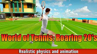 World of Tennis: Roaring 20's Mod Apk Download