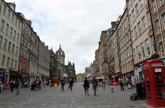 Ensikosketus Edinburghiin 8