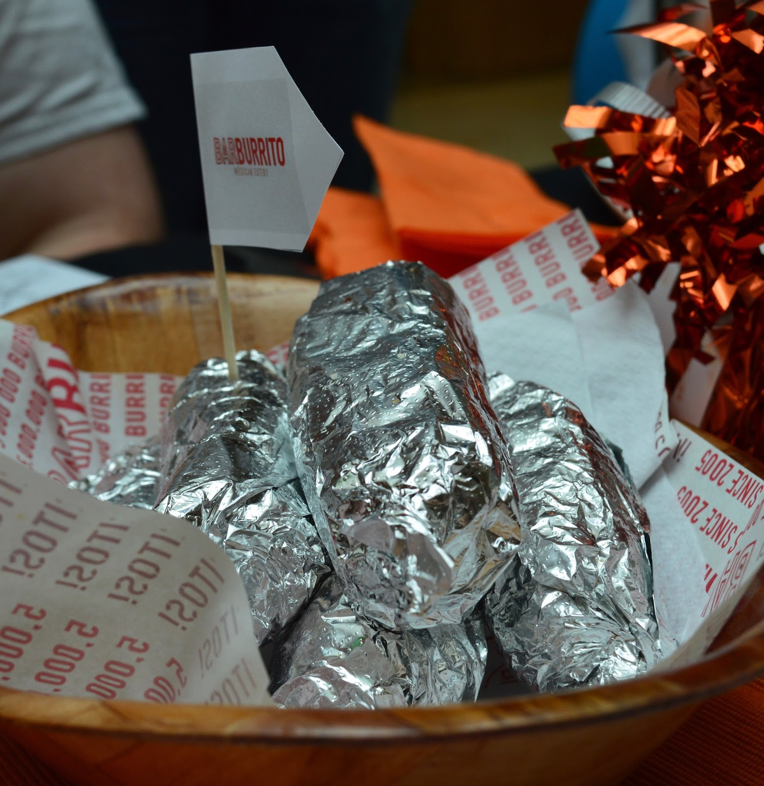 Our Guide to Family Restaurants & Children's Menus at intu Metrocentre - Burittos from Barburitto